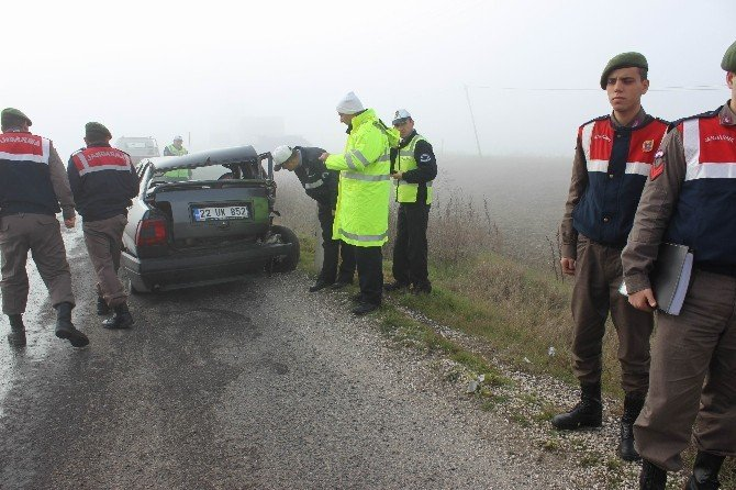 Tekirdağ'da Trafik Kazası: 2'si Çocuk 3 Yaralı