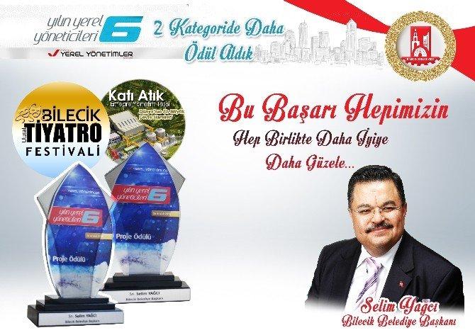 Bilecik Belediyesine İki Ödül