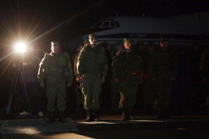 Suriye'deki Rus deniz piyadeleri, Kırım'a döndü