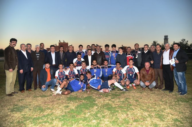 Sarıçam Belediyesi Başkanlık Turnuvası'nın şampiyonu İncirlikspor oldu