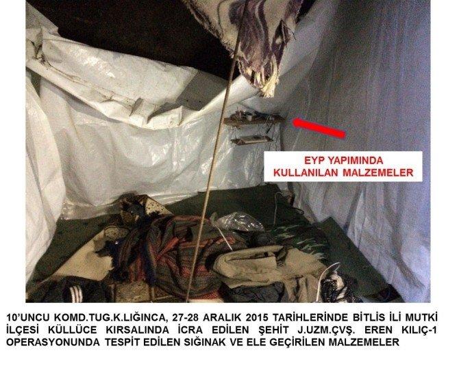 Terör Örgütünün Sığınağında Kürtçe İncil Çıktı