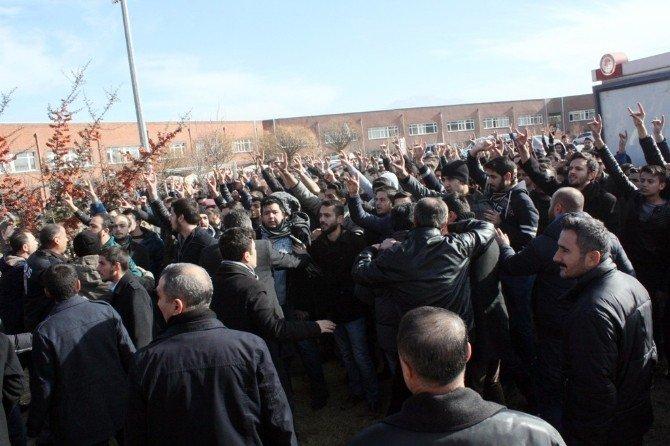 SDÜ'de Öğrenci Grupları Arasında Kavga