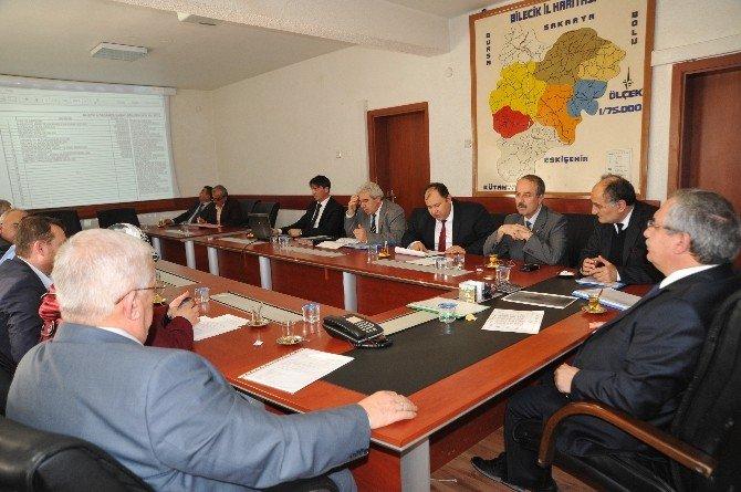Bilecik İl Encümen Toplantısı Yapıldı
