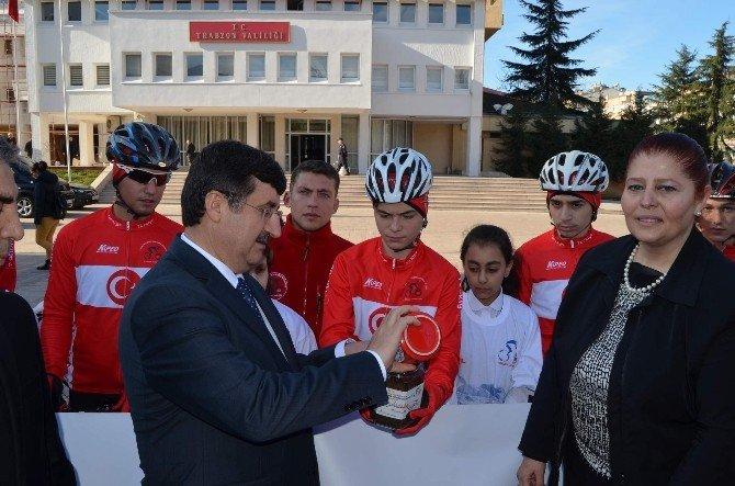 Sarıkamış Şehitliği'ne Trabzon'dan Toprak