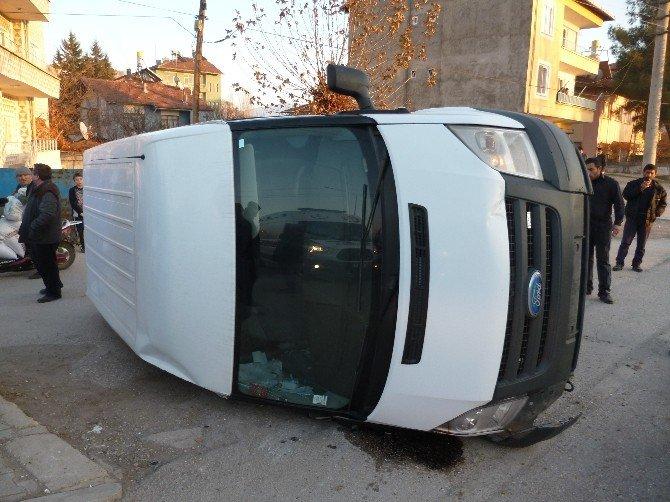 Turhal'da Aynı Yerde 2. Kaza: 1 Yaralı