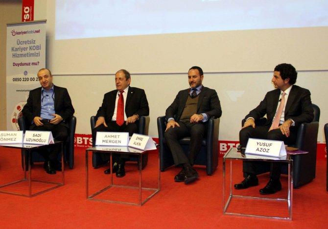 Ahmet Mergen: İşsizliğin azalması için 2016'da yüzde 5'in üzerine büyümek lazım