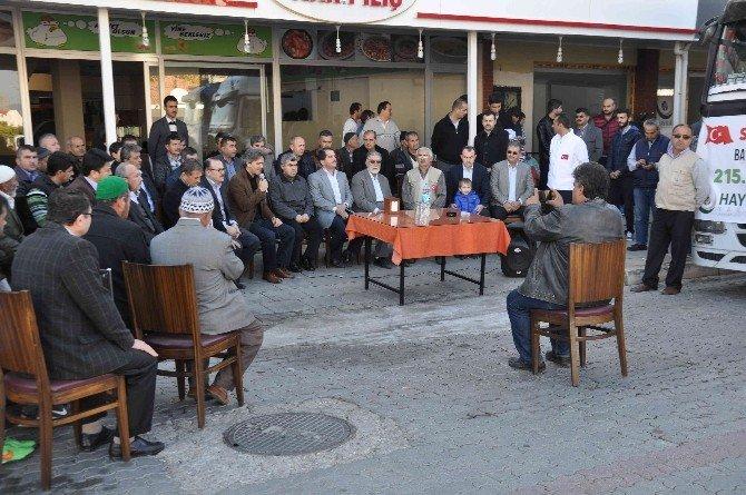 Fethiye'den Bayırbucak Türkmenlerine 2 Tır Yardım Gitti