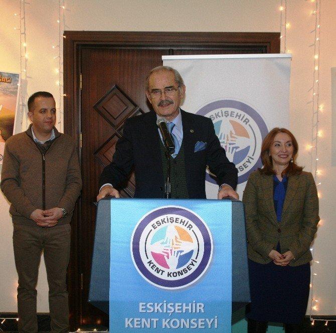 Eskişehir Kent Konseyi Ailesi Yılbaşı Kokteylinde Buluştu