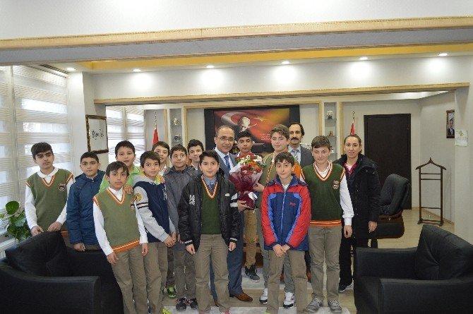 Öğrencilerden Emniyet Müdürlüğüne Ziyaret