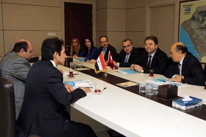 Başkonsolos Bassam Rady'den Başkan Kılıç'a Ziyaret