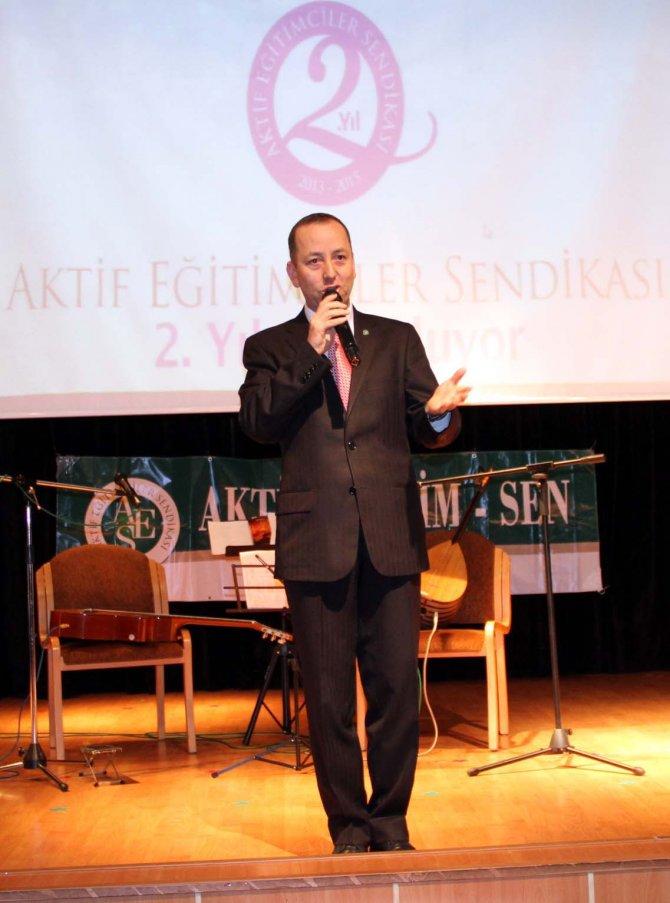 Aktif-Sen Başkanı Bahçe: MEB'in eğitimin sorunlarından daha önemli işleri var