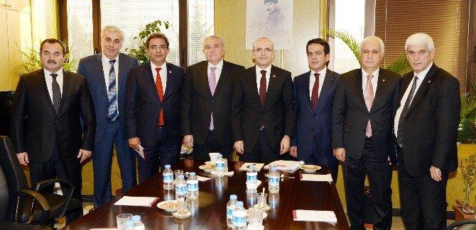 Tarım Konseyi'nden Başbakan Yardımcısı Şimşek'e Rusya Dosyası
