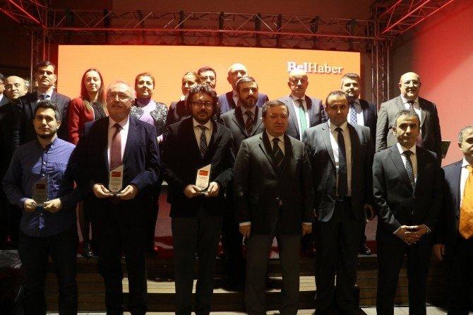 """Belhaber'den İHA'ya """"Yılın En İyi Haber Ajansı"""" Ödülü"""