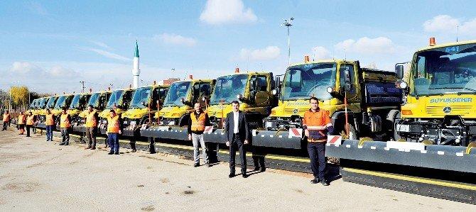 Büyükşehir Belediyesi, Tam Donanımlı Araç Filosuyla Göreve Hazır