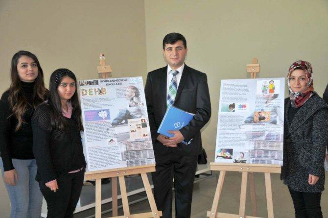 Öğrenciler, psikolojik hastalıkların genetik alt yapılarını araştırıp sergi açtı