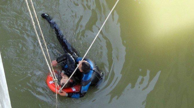 Filyos Irmağı'nda İntihar Girişimi