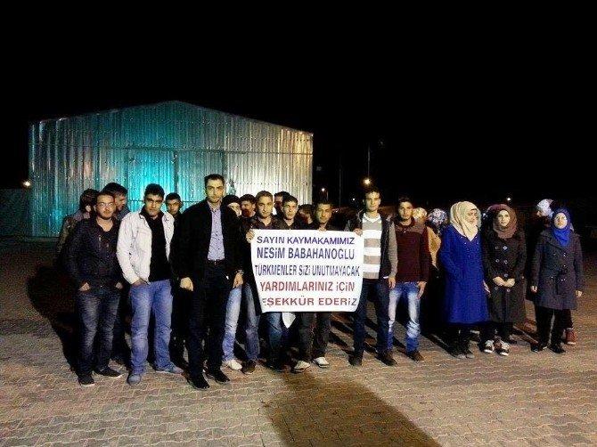 Yeşilyurt Kaymakamlığı, Mültecilere Kucak Açtı