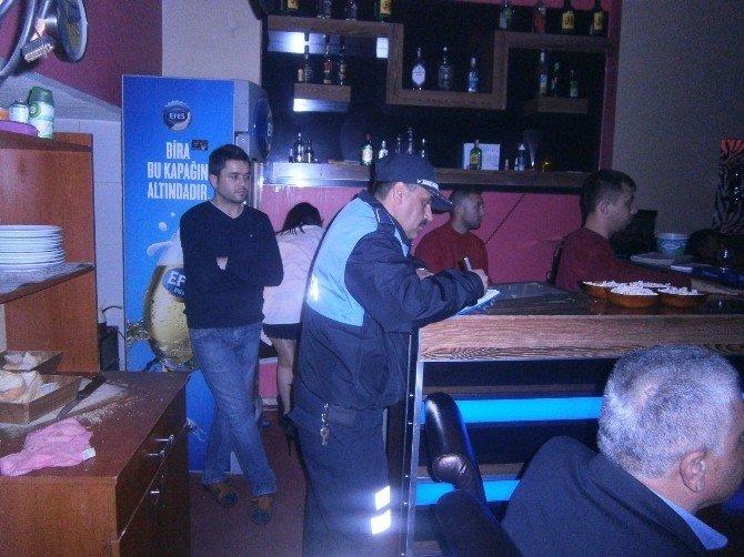 Alaşehir'de Yılbaşı Denetimi