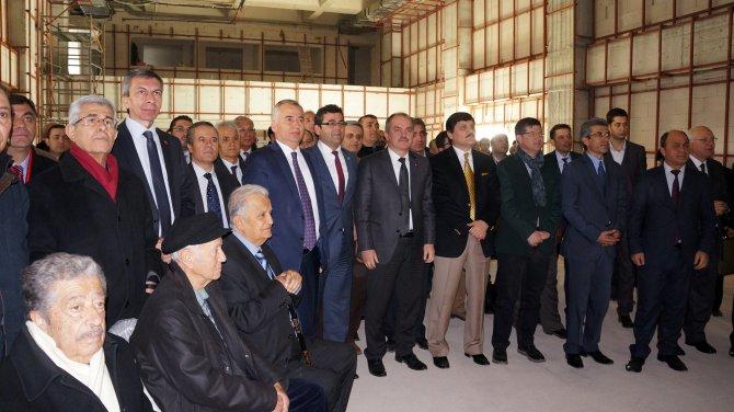 Denizli Barosu'nun yeni hizmet binası tamamlanma aşamasında