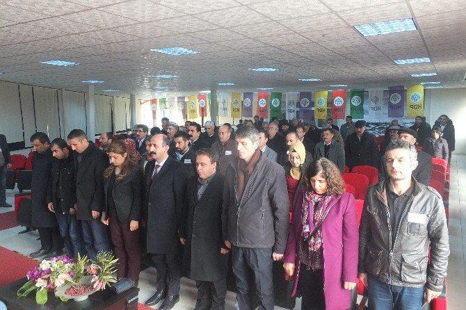 HDP, Hakkari'de Konferans Düzenledi