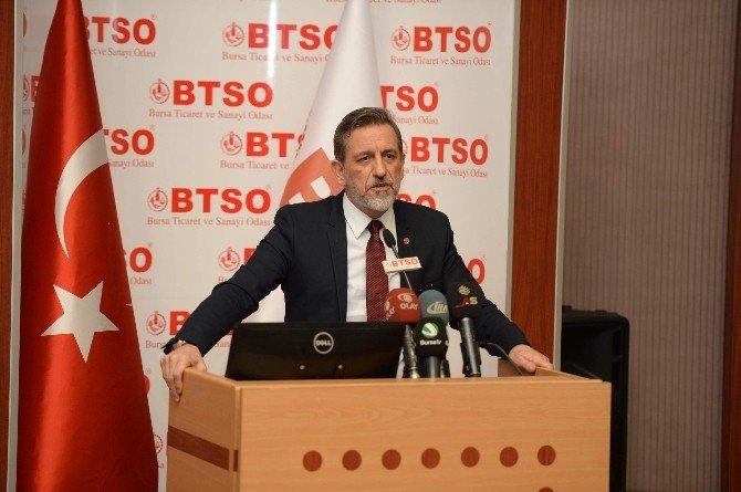Bursa'da Yanan Büyük İplik Fabrikası İçin Sektör Temsilcilerinden Dayanışma