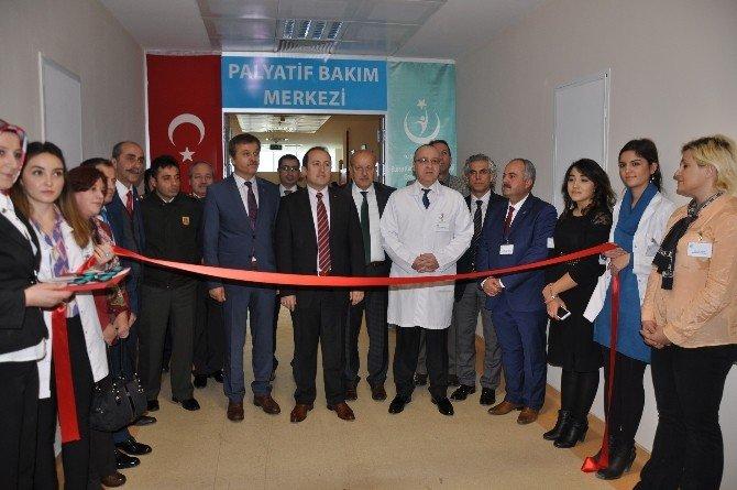 Palyatif Bakım Merkezi Açıldı