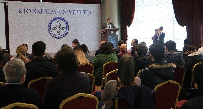 KTO Karatay Üniversitesi'nde İnovasyon Günleri