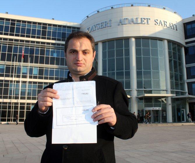 Kayseri'de yaşayan vatandaşa FSM'den kaçak geçiş cezası iddiası