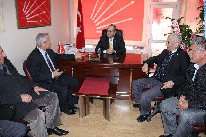 Kdz. Ereğli Şoförler Odası'ndan CHP'ye Ziyaret