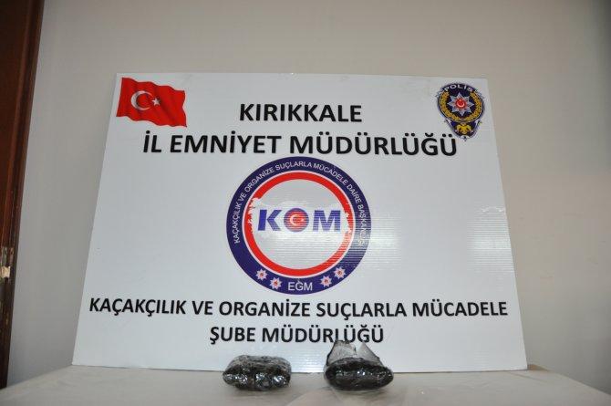 Kırıkkale'de 1 kilo kokain ele geçirildi