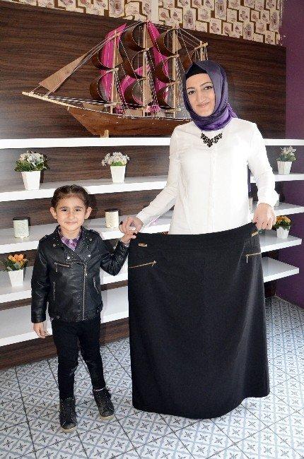 Kızı İçin 50 Kilo Verdi