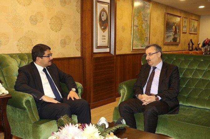 Genel Sekreter Memiş'ten Başkan Çelik'e Ziyaret
