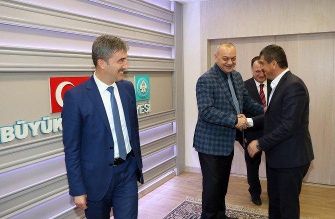 Turgutlu Esnafından Başkan Ergün'e Tatlılı Teşekkür