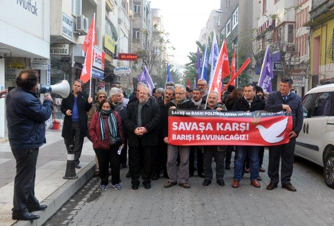 Manisa KESK Şubeler Platformu eylem düzenledi