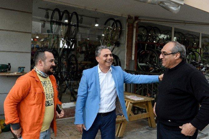Başkan Uysal'dan Esnaf Ziyareti