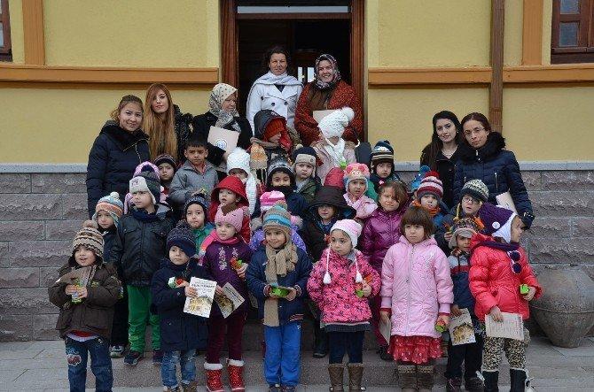 Müze Minik Misafirlerini Ağırladı