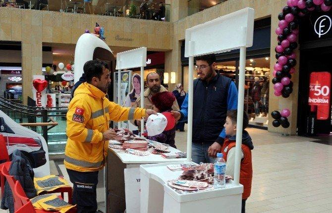 Nevşehir'de ''Yaşama Yol Ver'' Standı Açıldı