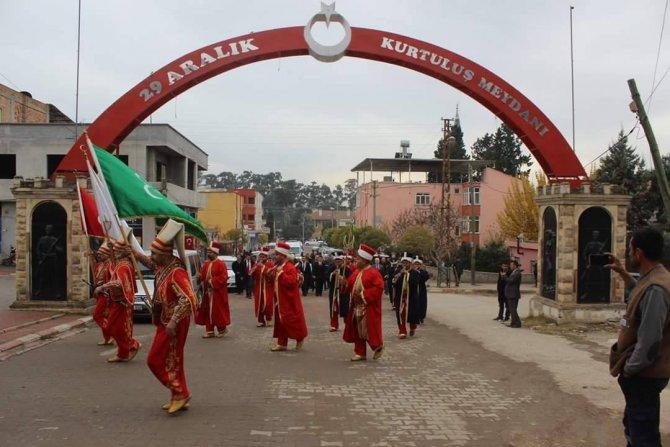 Toprakkale'nin kurtuluşunun 91. yıldönümü kutlandı