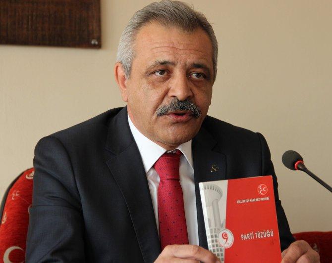 MHP İl Başkanı Akbudak: Genel başkanımız ve genel merkezimizin emrindeyiz