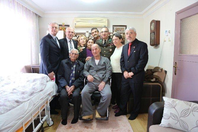 Kore Ve Kıbrıs Gazilerine Ziyaret