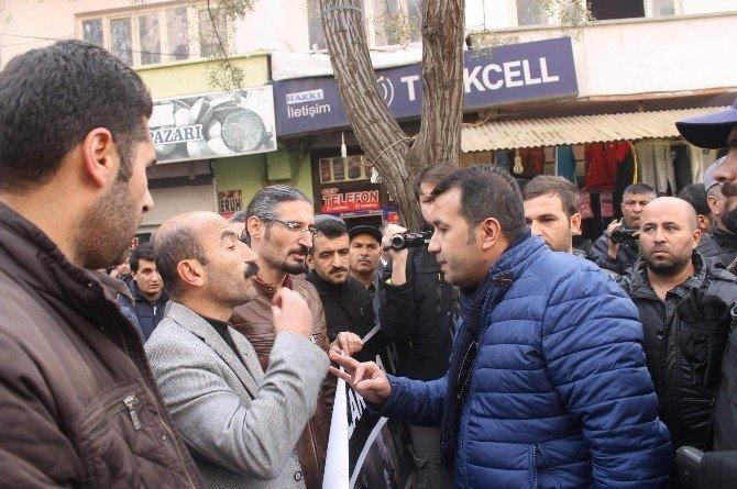 Siirt'te Yürüyüş Gerginliği