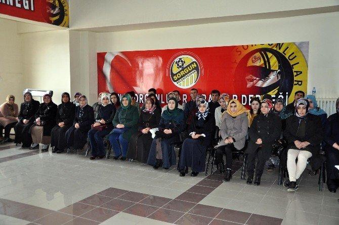 Sorgun'da 49 Kursiyere Düzenlenen Törenle Sertifikaları Verildi