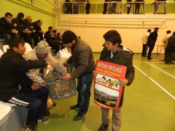 Beylikova'da Voleybol Turnuvası Başladı