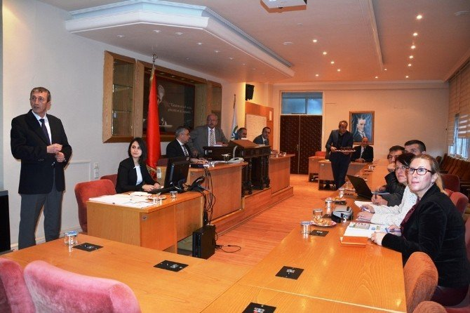 Basın Yayın Halkla İlişkiler Ve Kültür Sosyal Daire Başkanlığı Başkan Albayrak'a Brifing Verdi