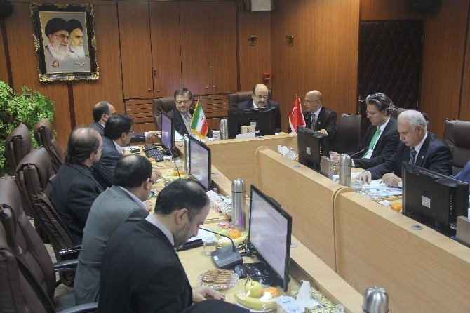 Türkiye Ve İran İslam Cumhuriyeti Arasında Yükseköğretim Alanında İlk Kez Üst Düzey Görüşmeler Gerçekleştiriliyor