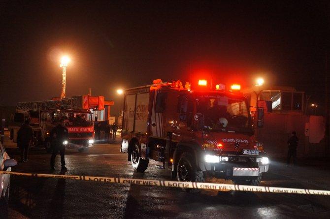 Harem Limanı'nda TIR'da korkutan patlama