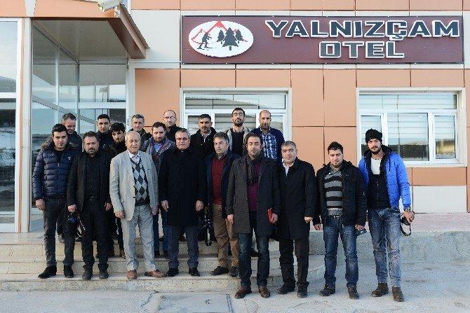 Vali Deniz, Gazetecilere 2015 Yılını Değerlendirdi