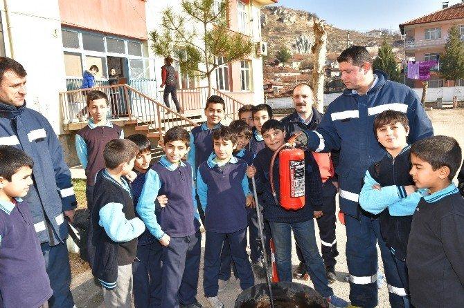 Turhal'da Yangın Tatbikatı