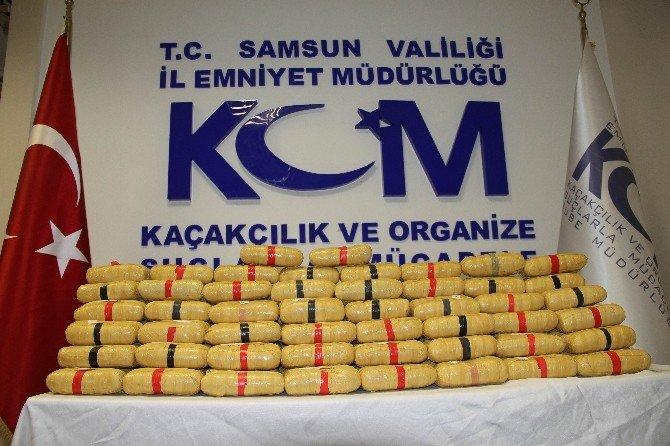 Samsun'da 82 Kilo Eroinle Yakalandı, 17.5 Yıl Ceza Aldı