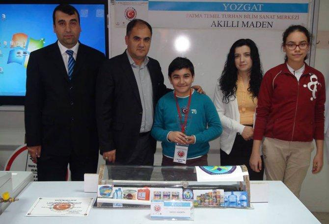Ortaokul öğrencilerinin hazırladığı yaşam odası projesine ödül